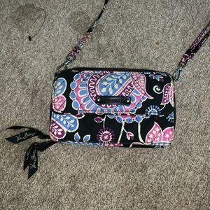Vera Bradley phone crossbody wallet